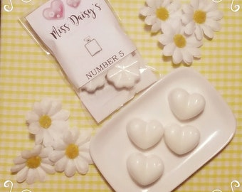 No 5 soy wax melt - similar to the Chanel iconic perfume / wax melts / highly scented wax melts
