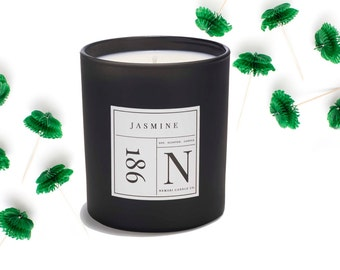 Jasmine Soy Candle - Luxury Candles, Scented Candles, Aromatherapy Candles, Wedding Gifts, Indulgent Candles