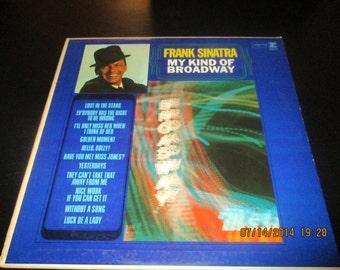 Frank Sinatra vinyl -  My Kind of Broadway - Original - Lp in VG++  Condition.