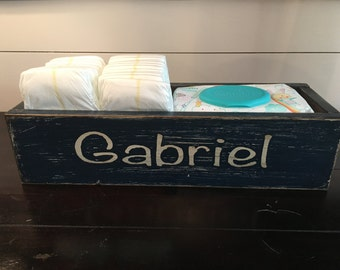 Personalized Baby Storage Box