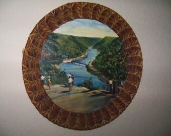 Old Pine Needle Basket Frame
