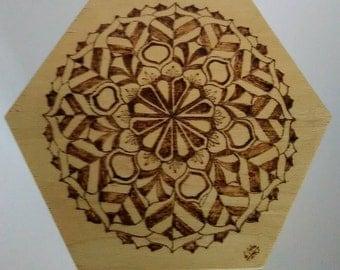 Mandala box. Personalisation available