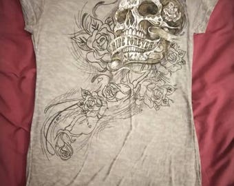 Ride Forever Biker Shirt.