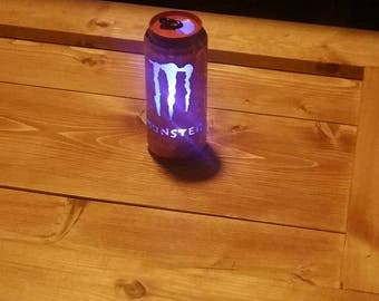 monster energy drink can light,  birthday,  fathers day
