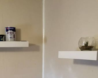 set of 2 floating shelves,  floating shelf,