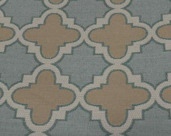 Duralee Pavilion indoor outdoor fabric sample- stain resistant fabric - teflon coated fabric - designer fabric - journal fabric - bag fabric