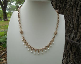 Vintage Sara Coventry Convertible Necklace and Bracelet Set