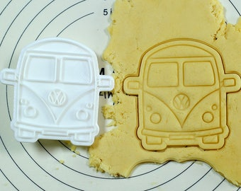 Old Volkswagen Cookie Cutter and Stamp