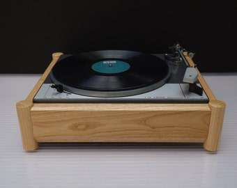Ash wood PLINTH for Lenco L-75 / L-78 turntable series