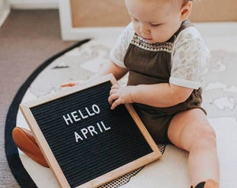 Black letter board type board design board