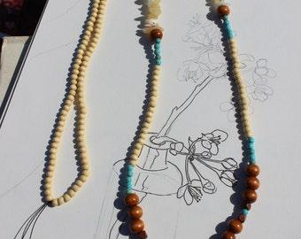 Howlite Talon Necklace