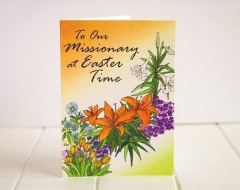 Easter Missionary Greeting Card