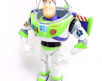 Thinkway TOY STORY Buzz Lightyear Ultimate Talking Action Figure ORIGINAL 1990s