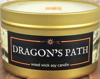 """DRAGON'S PATH Candle 