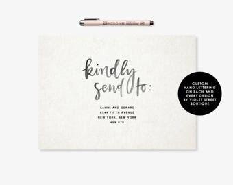 Editable Envelope Printable, Editable Envelope, Editable Wedding Custom Envelope, Custom Calligraphy Editable Text, Editable Download PDF