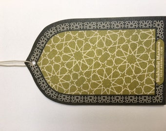 Oud Oudh Fragrance Card Freshener or Car Freshener Mukhallat manama