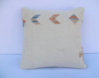 Turkish Pillows Tribal Pillow Cover  Pastel Pillow Cover  Southwestern Pillow Cover  Kilim Pillow Cover Aztec Pillow Cover  Pillow Cover C2