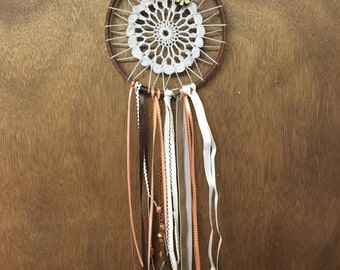 Orange and Brown Dreamcatcher