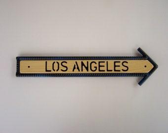 Los Angeles Arrow Sign