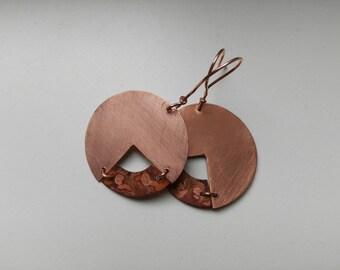Earrings ~IL PICCOLO CHIMICO~ copper