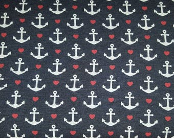 Jersey print anchor