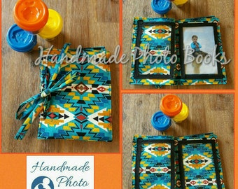 Fabric Photo Album/Book - Patterned