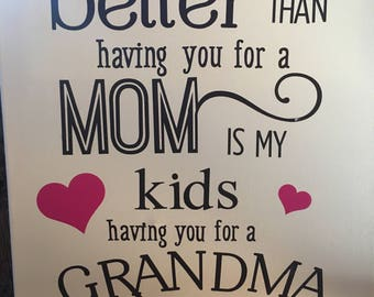 Perfect Gift for Grandparents! Mother's Day, Father's Day, birthday