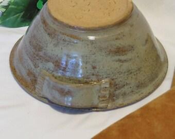 Handmade Clay Bowl, Natural Colors