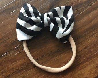 Zebra Fabric Haor Bpw, Hair Clip