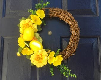 Summer Fruit Wreath