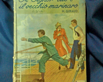 children's novel Mr. TITO and the old FISHING VILLAGE of m. Giraud 1941