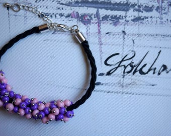 Beautiful Purple Bracelet