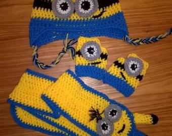 Minion Set Crochet. Set all'uncinetto a tema Minion