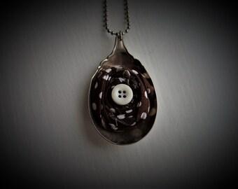 Vintage Spoon Necklace #377