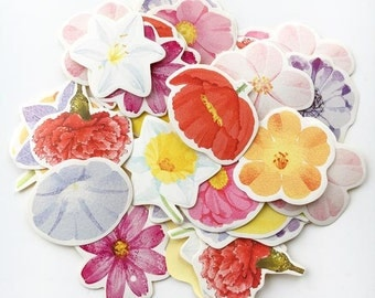 Floral Shower Stickers Box