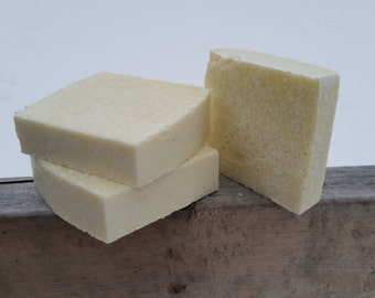 Handmade Basic Salt Bar Soap