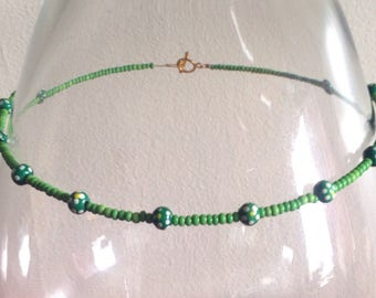 Green Meadow Necklace