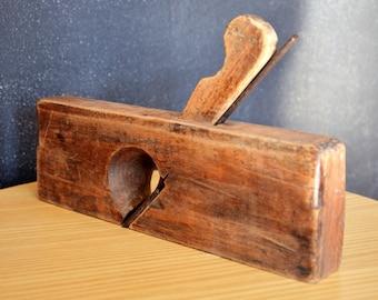 Rabot à main en bois / Wooden hand planer