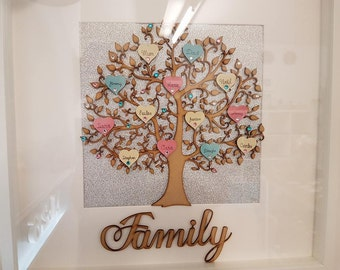 Family Tree Frame - Large