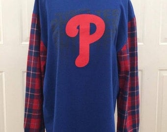 Philadelphia Phillies Flannel T-shirt