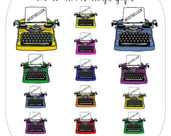 Typewriter Set - Bestseller