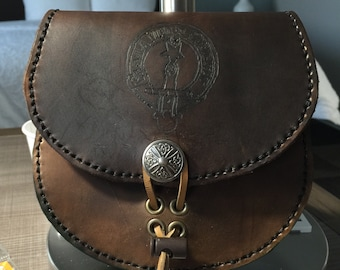 Custom Leather Sporran