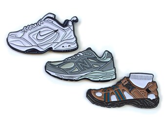 Dad Shoes Enamel Pins