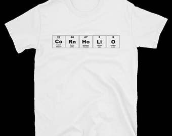 Periodic Table Element CoRnHoLiO T-Shirt