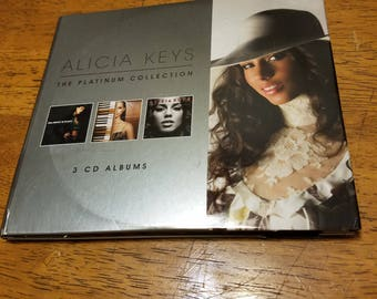 ALICIA KEYS Platinum Collection (3 total CDs)