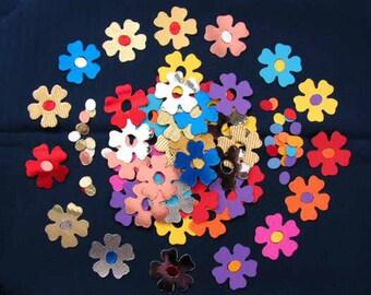 Sizzix die-cut flowers x 20