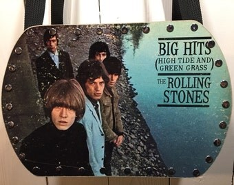 Rolling Stones - Big Hits (High Tide and Green Grass) vinyl record purse