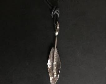 Little Sterling Leaf