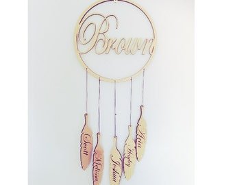 Personalised Dream catchers