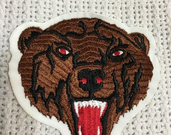 GRIZZLY BROWN BEAR Patch Mint Vintage Quality Item
